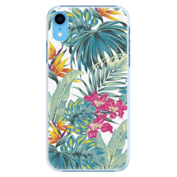 Plastové pouzdro iSaprio - Tropical White 03 - iPhone XR
