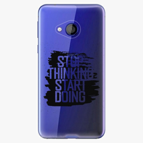 Plastový kryt iSaprio - Start Doing - black - HTC U Play