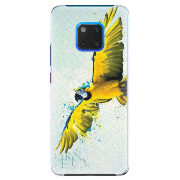 Plastové pouzdro iSaprio - Born to Fly - Huawei Mate 20 Pro