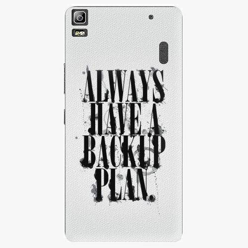Plastový kryt iSaprio - Backup Plan - Lenovo A7000