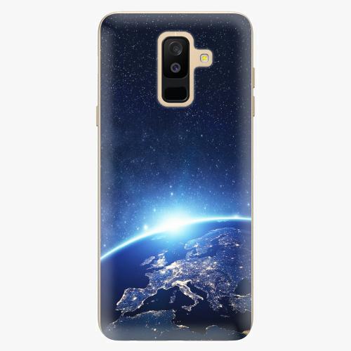 Plastový kryt iSaprio - Earth at Night - Samsung Galaxy A6 Plus