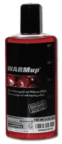 Masážní olej hřející třešeň - WARMup Kirsch