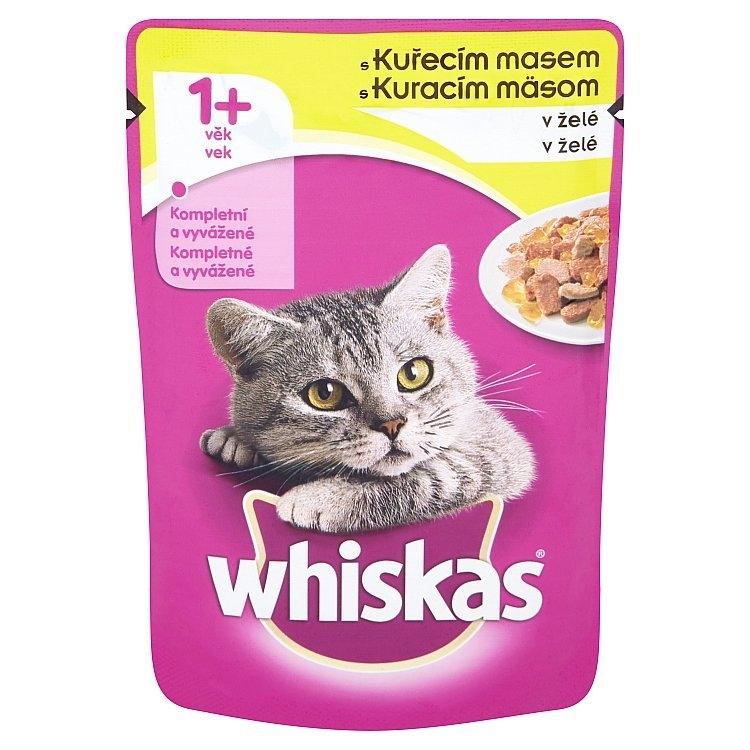 S kuřecím masem v želé kapsička pro kočky 100 g