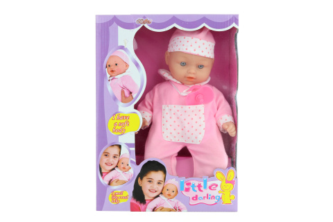 Panenka miminko brečící růžové