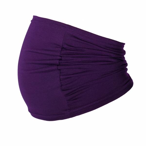 Těhotenský pás - fialový, vel. L/XL - L/XL