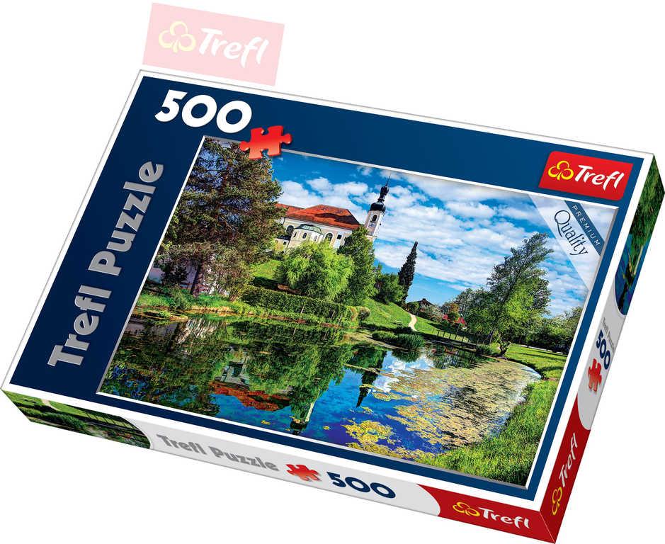 TREFL PUZZLE Foto Bavorsko Chiemské jezero 500 dílků 48x34cm 137193