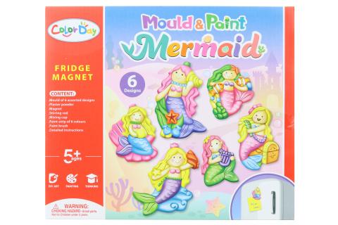 Výroba magnetů - mořské panny