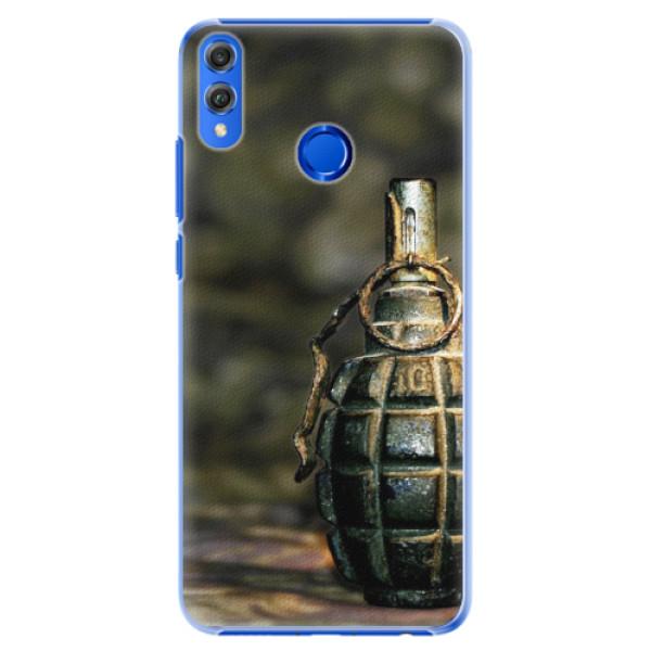Plastové pouzdro iSaprio - Grenade - Huawei Honor 8X
