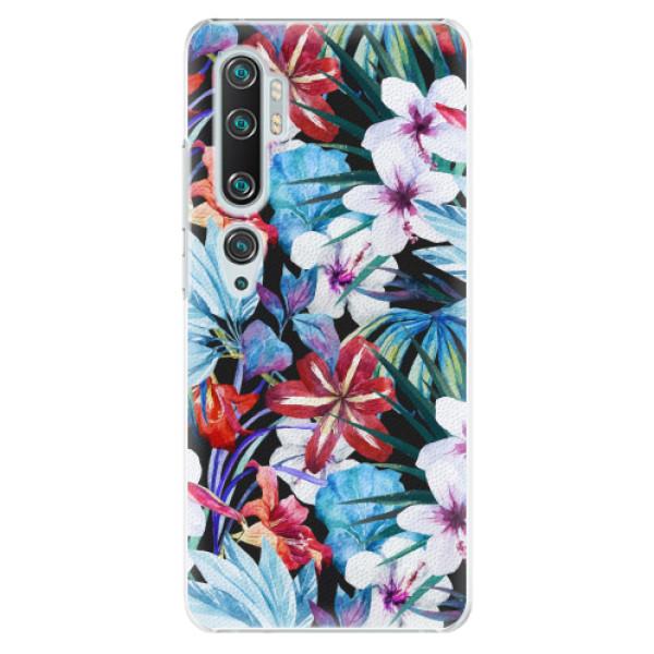 Plastové pouzdro iSaprio - Tropical Flowers 05 - Xiaomi Mi Note 10 / Note 10 Pro