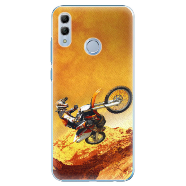 Plastové pouzdro iSaprio - Motocross - Huawei Honor 10 Lite