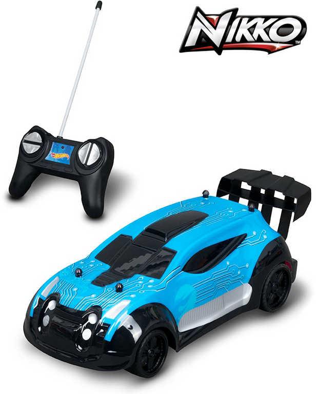 NIKKO RC Hot Wheels Fast 4WD auto závodní 1:20 na baterie 27MHz na vysílačku