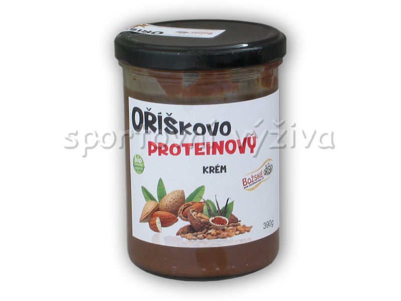 Oříškovo proteinový krém 390g