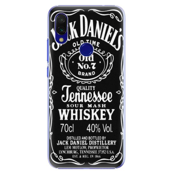 Plastové pouzdro iSaprio - Jack Daniels - Xiaomi Redmi 7