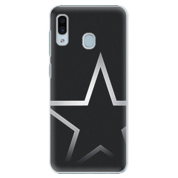 Plastové pouzdro iSaprio - Star - Samsung Galaxy A20