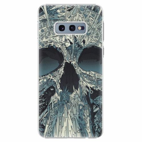 Plastový kryt iSaprio - Abstract Skull - Samsung Galaxy S10e