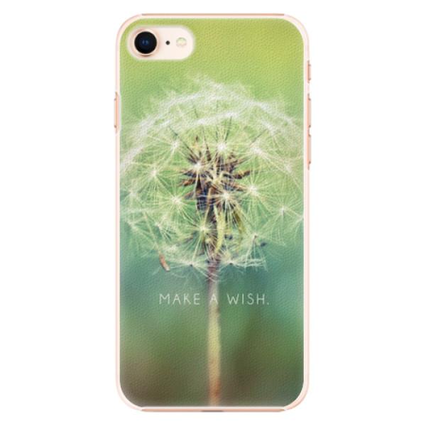 Plastové pouzdro iSaprio - Wish - iPhone 8
