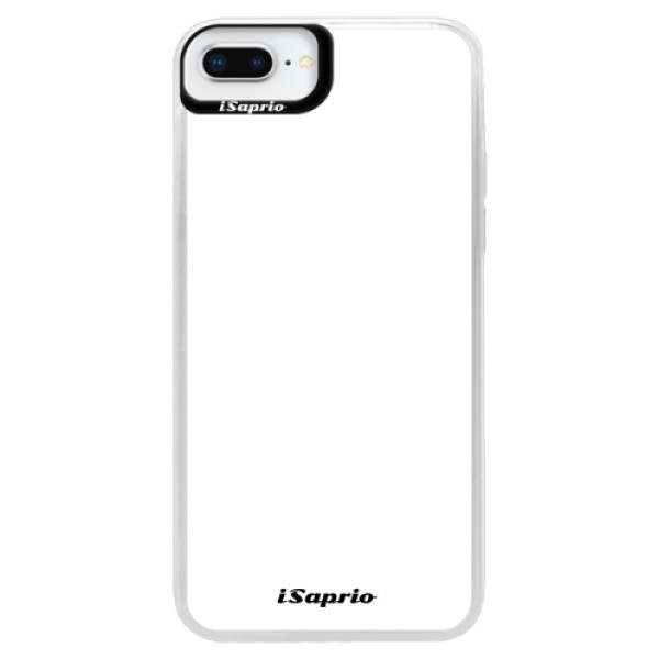 Neonové pouzdro Blue iSaprio - 4Pure - bílý - iPhone 8 Plus