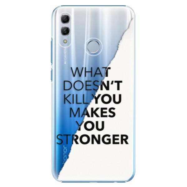 Plastové pouzdro iSaprio - Makes You Stronger - Huawei Honor 10 Lite