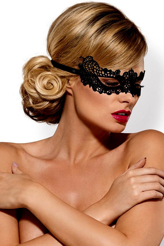 Maska na oči A701 - Černá/Univerzální