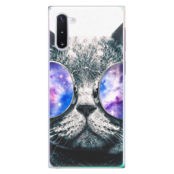 Plastové pouzdro iSaprio - Galaxy Cat - Samsung Galaxy Note 10
