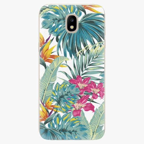 Silikonové pouzdro iSaprio - Tropical White 03 - Samsung Galaxy J5 2017