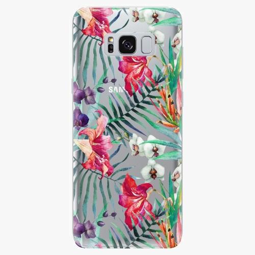 Silikonové pouzdro iSaprio - Flower Pattern 03 - Samsung Galaxy S8