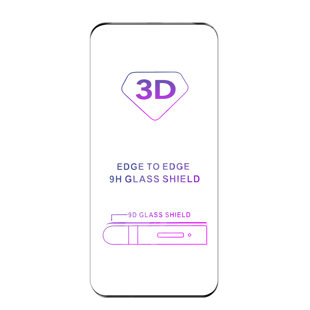 Tvrzené sklo iSaprio 3D BLACK pro Samsung Galaxy S20 Ultra