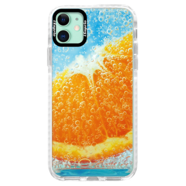 Silikonové pouzdro Bumper iSaprio - Orange Water - iPhone 11