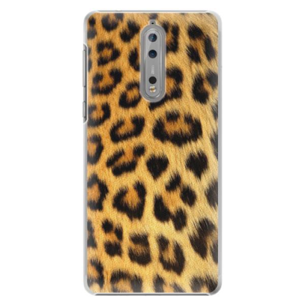Plastové pouzdro iSaprio - Jaguar Skin - Nokia 8
