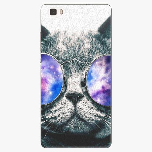Plastový kryt iSaprio - Galaxy Cat - Huawei Ascend P8 Lite