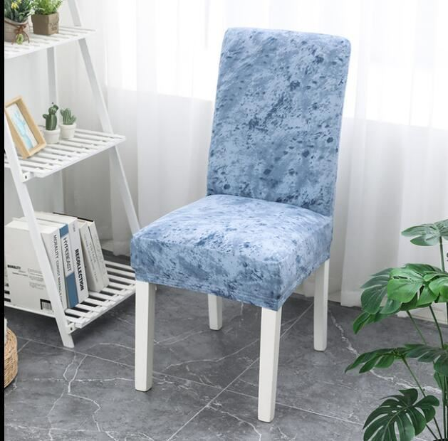 Elastický potah na židli - modrý