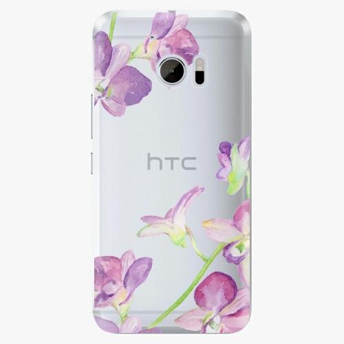 Plastový kryt iSaprio - Purple Orchid - HTC 10