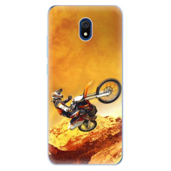 Odolné silikonové pouzdro iSaprio - Motocross - Xiaomi Redmi 8A