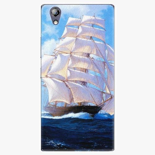 Plastový kryt iSaprio - Sailing Boat - Lenovo P70
