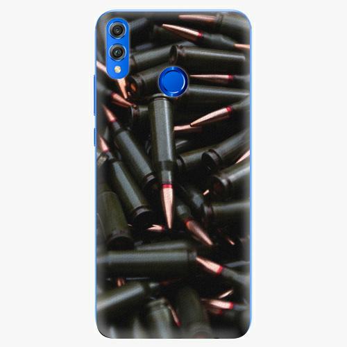 Silikonové pouzdro iSaprio - Black Bullet - Huawei Honor 8X