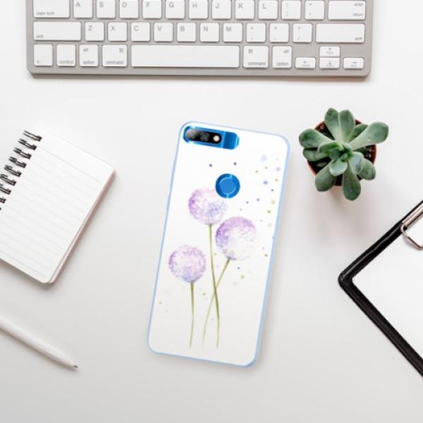 Silikonové pouzdro iSaprio - Dandelion - Huawei Y7 Prime 2018