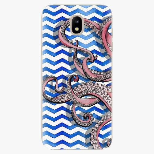 Silikonové pouzdro iSaprio - Octopus - Samsung Galaxy J5 2017