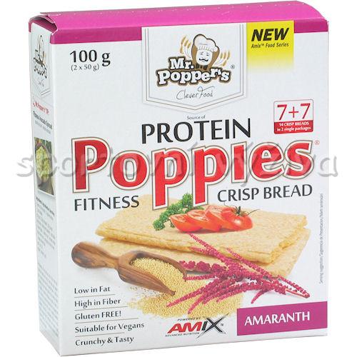 Poppies CrispBread Protein Amaranth 100g
