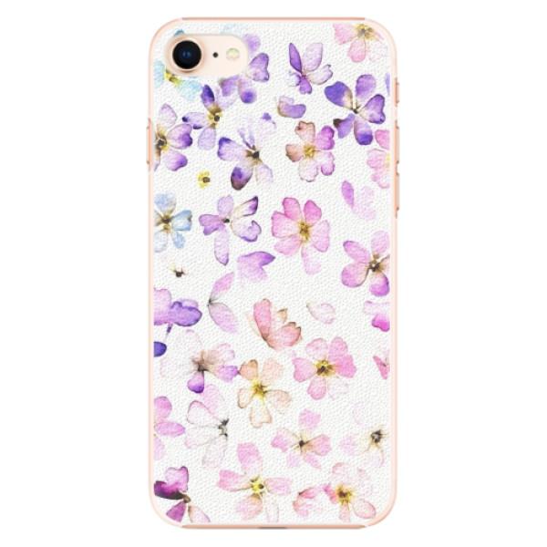 Plastové pouzdro iSaprio - Wildflowers - iPhone 8