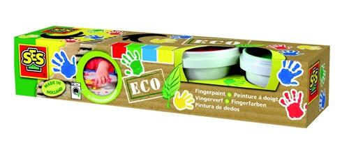 Eco prstové barvy (4 barvy)