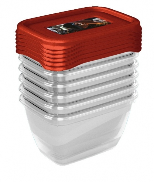 Sada plastových krabiček Star Wars 0,25l - 6 ks