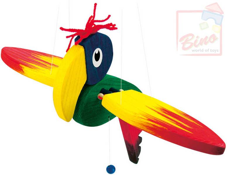MERTENS DŘEVO Papoušek DP mal.