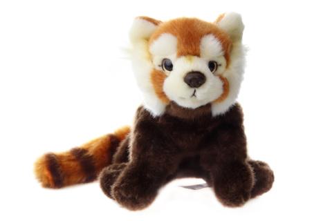 Plyš Panda červená 18 cm