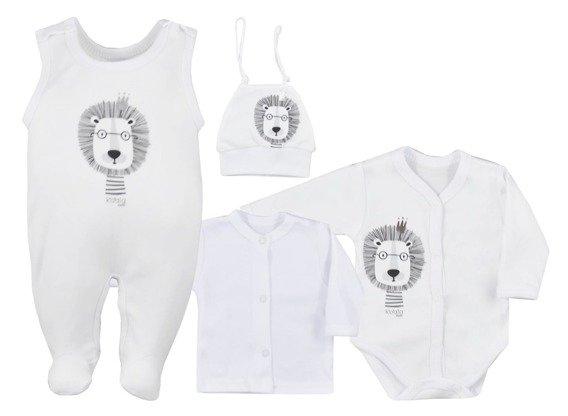 koala-baby-4-dilna-bavlnena-soupravicka-do-porodnice-simba-bila-vel-62-62-2-3m