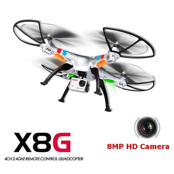 RC dron SYMA X8CG - 8Mpix Full-HD kamera - dlouhá doba letu