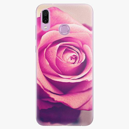 Silikonové pouzdro iSaprio - Pink Rose - Huawei Honor Play
