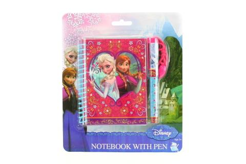 Zápisník s perem Frozen