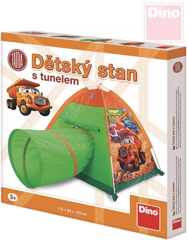 DINO Stan dětský s tunelem Tatra 170x112x94cm