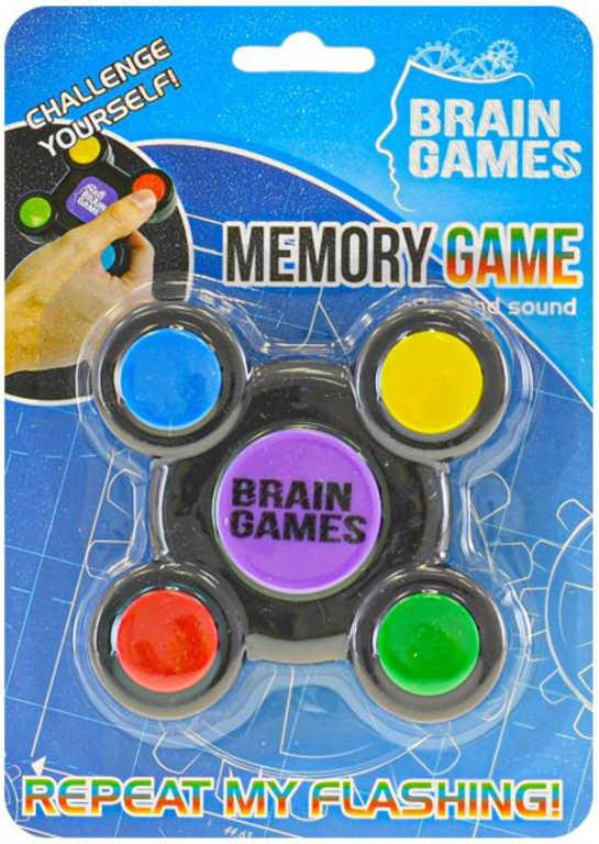 Hra Test paměti na baterie Světlo Zvuk *SPOLEČENSKÉ HRY*