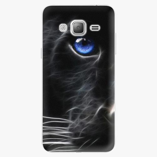 Plastový kryt iSaprio - Black Puma - Samsung Galaxy J3 2016